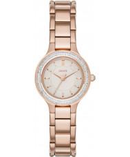 DKNY NY2393 Damen Kammern stieg vergoldet Uhr
