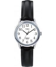 Timex T20441 Damen silber schwarz leicht Leser Uhr