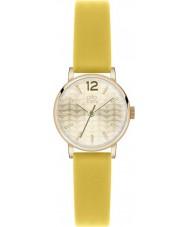 Orla Kiely OK2020 Damen frankie gelb Lederband Uhr