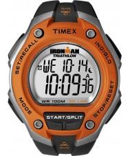 Timex T5K529 Mens orange schwarz ironman 30 Runde Übermaß Sportuhr