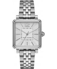 Marc Jacobs MJ3461 Damen vic versilbert Armbanduhr
