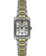 Rotary LB02651-41 Damen Uhren mit zwei Tönen Uhr