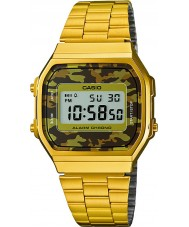 Casio A168WEGC-5EF Mens Retro Sammlung vergoldete Uhr