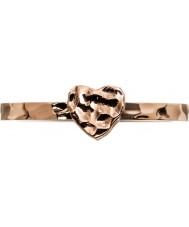 Edblad 3153441960-XL Damen kleines Herz Rose Vergoldet Ring - Größe s (XL)