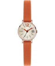 Orla Kiely OK2024 Damen frankie Orange Lederband Uhr