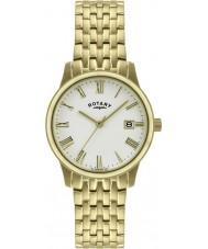 Rotary GB00794-32 Mens ultra dünne vergoldete Uhr