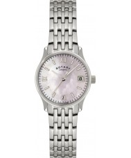 Rotary LB00792-07 Damen Timepieces Perle silberne Uhr